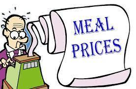 2020-2021 Meal Prices