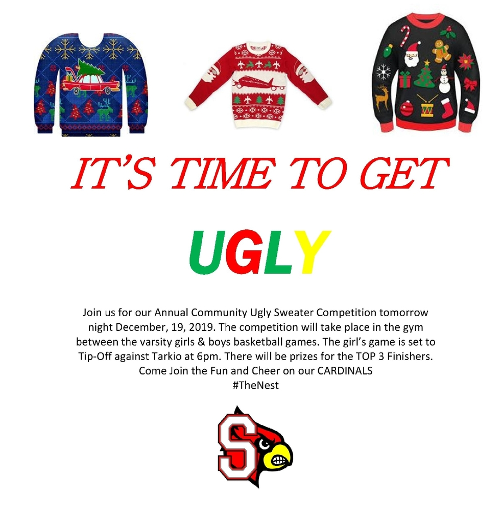 Ugly Sweatet Contest