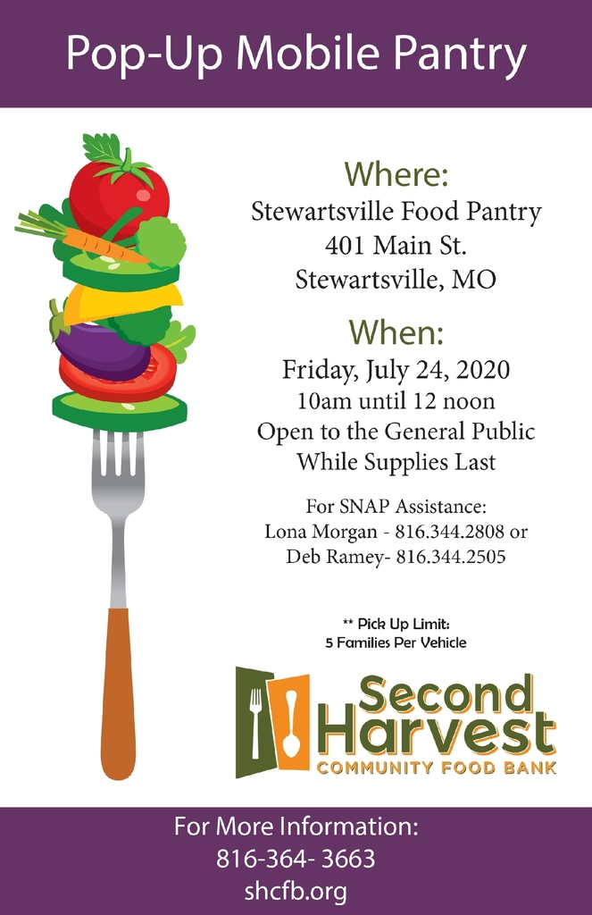 pop-up food pantry